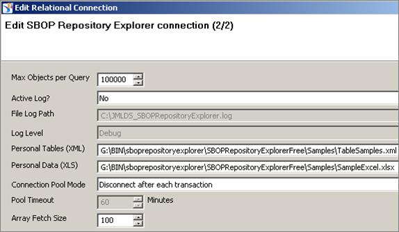 SBOPRepositoryExplorer_connectionParameters2